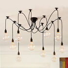 Industrial contemporary Loft Edison Bulb Chandelier Pendant Ceiling lamp 8