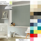 Blackout Vertical Blinds - Choose From 36 Colours - Made To Measure