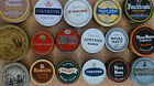 Vintage Round Tobacco Tins (Individually Priced) Empty