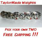 TWO (2) TaylorMade Weights 1g 2g 4g 6g 8g 10g 12g 14g PICK YOUR OWN TWO !!