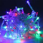 30-80 Led Battery Operated Micro Wire String Fairy Party Xmas Wedding Light