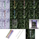 Glass Icicle Ornaments (Choose Size and Color) Christmas Tree Hanging Glasswich