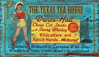TEXAS TEA HOUSE ~ Handcrafted Custom Made Wood Sign w/ Your Name ~ by PLD