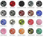MG Car Alloy Wheels Centre Cap Badges Set 45mm Octagon.55mm, 57mm, 80mm Circular