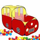Red Sports Car Kids Play Tent House Playhut Children Ocean Balls Pit Pool POPUP