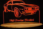 "1968 Firebird Edge Lit Awesome 21"" Lighted Sign LED Plaque 80 VVD1 USA Original"
