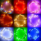 50LEDs/5M Multicolor Battery Power Operated String Fairy Lights Outdoor Decor
