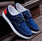 Hot Korean Men Breathable Canvas Shoes Breathable Sneakers Sport Casual Running