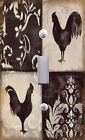 Light Switch Plate & Outlet Covers ROOSTER SILHOUETTE