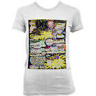 6025 ACID HOUSE TREE 2 Damen T-SHIRT techno DEUTSCHLAND IBIZA FRANKREICH DETROIT