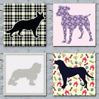 Dog Pattern Art Canvas Prints - The Many Magical Patterns Of The Canine World 3