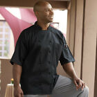 Mesh Back Short Sleeve Chef Jacket Style 0480 (Black) Barbados (all sizes)