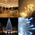 100M 500 LED Warm Cool White Fairy String Lights Christmas Outdoor Party Wedding