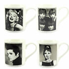 Icons Collection Fine China Mug Boxed - The Beatles, Marilyn, Audrey or Elvis