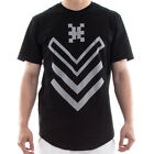 Hudson H Chevron Short Sleeve Men's T-Shirt Black h15389-blk