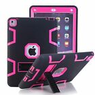 "Heavy Duty Case Stand Cover for iPad Mini 1/2/3/4/5/Air, iPad 10.2"" 7th Gen 2019"