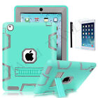 "Heavy Duty Case Stand Cover for iPad Mini 1/2/3/4/5/Air, iPad 10.2"" 7th/ 8th Gen"