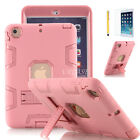 """Heavy Duty Case Stand Cover for iPad Mini 1/2/3/4/5/Air, iPad 10.2"""" 7th Gen 2019"""