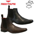 BOYS KIDS CHILDRENS LEATHER SMART CHELSEA DEALER SCHOOL ANKLE BOOTS SHOES SIZE