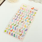 1 Sheets Cute Animal Diary Calendar Label Book Sticker Scrapbook DIY Notebook