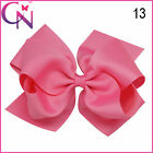 Grosgrain Ribbon Newest Fashion Accessories Hair Bow With Clip For Girls