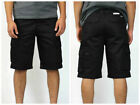 Black 6 Pocket cargo shorts for Men Classic fit High quality 100% cotton