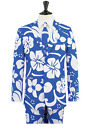 Men's Hawaiian Suit; Jacket, Trousers & Tie - Perfect for themed parties