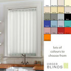 Made To Measure 89mm Dim-Out Vertical Blinds - High Quality with Wand Or Chain