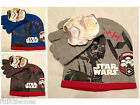BOYS HAT & GLOVES SET,DISNEY STAR WARS TROOPERS,SOFT WINTER WARM 2-8 YEARS