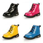 Colorful Kid's Shoes Martin Boots Boy Girl's easeful Snow Boots PU Leather
