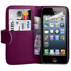 iPhone Case Cover PU Leather Wallet Book Flip Case Cover For All Apple Models