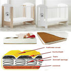 BABY RAJ BEAR MOON COT ON END PANEL 3 COLOURS+ HIGH QUALITY MATTRESS 5 TYPES