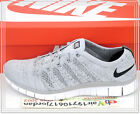 Nike Free Flyknit NSW 1 Grey White 599459-002 US 9~11 Running Mens 2015 Shoes