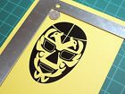 """ Dos caras "" Lucha libre Mexican wrestling mask die cut vinyl decal sticker"