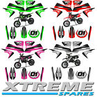 MINI DIRT BIKE XTREME TOX CRX 50 ALL COLOURS STICKER KIT DECALS TRANSFERS PART