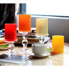 Votive Led Candle with Timer Flameless Plastic Pillar Candle Home Decoration