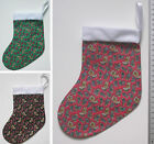 SMALL CHRISTMAS STOCKING - Paisley Print *LOADS MORE IN STORE*
