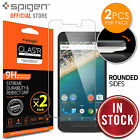 Nexus 5X Screen Protector, Genuine Spigen GLAS.tR SLIM Tempered Glass for Google