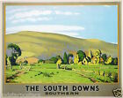 461 Vintage Railway Art  - The South Downs  *FREE POSTERS