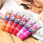 6Pcs Sexy Tattoo Magic Peel Off Mask Lipstick Long Lasting Waterproof Lip Gloss