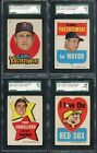 1967 TOPPS BOSTON RED SOX STICKERS NEAR SET (-#3) EX-MT OVERALL 280810