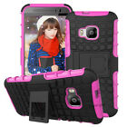 Hybrid Heavy Duty Rugged Kickstand Case Cover for HTC ONE M9/510 610 618 526 820