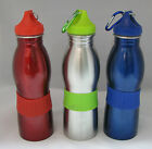 Quality Home Sports Bottle Drink Water Stainless Steel, Bicycle Cycling , 22 OZ