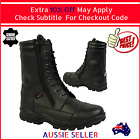 DUAL ZIPPERED WATERPROOF MOTORCYCLE BOOTS