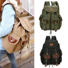 New Men's Canvas Travel Satchel New Shoulder Bag Hot Backpack College Knapsack