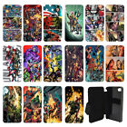 DC Marvel superhero comic book Flip Wallet cover case for Apple iPhone No.12