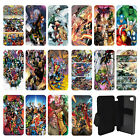 DC Marvel superhero comic book Flip Wallet cover case for Apple iPhone No.8