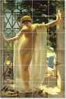 S-M-L-XL John Weguelin Nudes Painting Ceramic Kitchen Backsplash Tile Murals 1