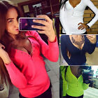 Fashion Women Summer Vest Top Long Sleeve Blouse Casual Tank Tops T-Shirt