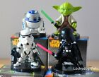 Star Wars 4pcs Toy Figure Doll Darth Vader R2-D2 Yoda Stormtrooper New In Box